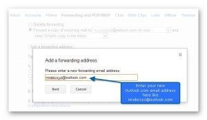 switching gmail to outlook 8